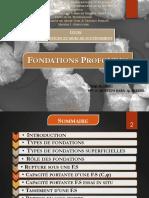 Fondations Prof