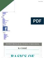 Basics of reservoir engineering COSSE 1