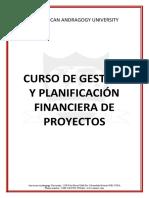 CURSO DE Gestión y planificación financiera de proyectos