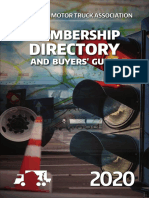 MMTA 2020 Membership Directory & Buyers' Guide