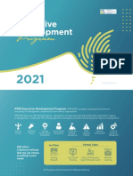 PPM Executive Development Program 2021