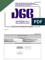 Informática I (Preparatoria México SEP DGB)