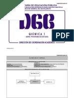 Quimica I ( SEP DGB México Bachillerato)