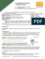 FR JG105 Jeu Passe Compose Etre
