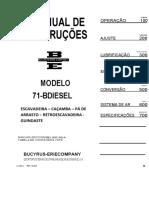 71 B Manual  Português