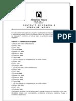 Contrato de Compra de Imóveis