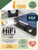 ON mag (2021-1) : Hifi like a Boss