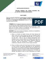 Notificacion Por Edicto Id 009-2020 (Racine Díaz) 09022021