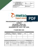 P-DGM-MEC-025 Proc. Volteo de cabeza