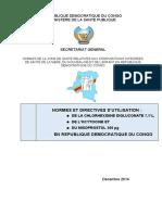 Normes Et Directives Chlorhexidine Ocytocyne Misoprostol Cyrille Du 13 06 2015 Vf