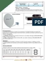 Devoir de Synthèse N°3 - Technologie Antenne parabolique - 1ère AS  (2010-2011) Mr BAAZAOUI Raouf