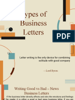 C3L6 - Types of Business Letters