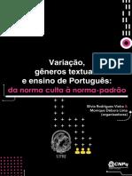 Variação, Gêneros Textuais e Ensino de Português - Vieira & Lima (2019)