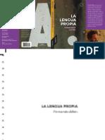 Alfón, Fernando (2020) «La Lengua de La Querella»