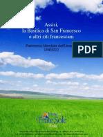 Assisi Patrimonio Mondiale dell'Umanità Unesco