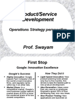 OS Product & Service Dvlpmnt