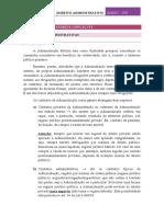 Direito Administrativo CPII