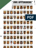 DWI Convictions Dec 2010-Feb. 2011