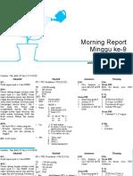 Morning Report Minggu 8