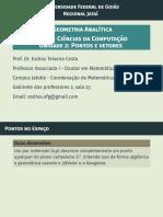 Pontos e Vetores - Drº Esdras