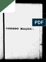 Codigo Maconico - Gob - 1862