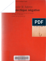 Adorno, Theodor W. - Dialectique négative (OCR OP)