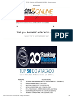 TOP 50 - RANKING NACIONAL ATACADO 2019 - Revista Anamaco