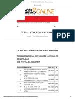 TOP 50 ATACADO NACIONAL - Revista Anamaco