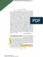 Parizeau - Les IDE Sont Ils Un Menace