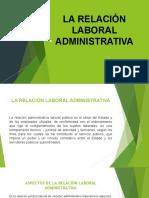 La Relación Laboral Administrativa (1)