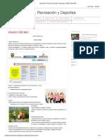 Educación Física, Recreación y Deportes_ GRADO DECIMO