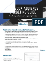 Facebook Ads and Audience Targeting Methods