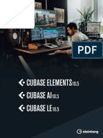 Cubase Elements 10 5 Manuale Operativo It