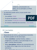 12. Los Textos Descriptivos