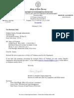 Deal CAFRA Violation Notice