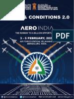 Terms & Condition for Aero India 2021 (2)