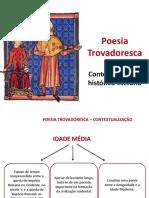 contextualização literatura trovadoresca