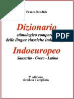 Franco Rendich, Dizionario. Etimologico Comparato Delle Lingue Classiche Indoeuropee