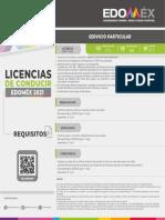 Requisitos Licencia de Conducir Edomex 2021
