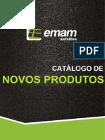 Catálogo Novos Produtos