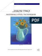 2 Materials, Steps, Techniques