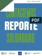 Reporte Final Contagiemos Solidaridad