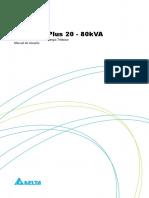 Manual do usuário - Série NH Plus 80 KVA - PT_BRZ - rev 03out10