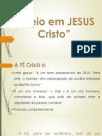 Creio em jesus cristo 10ano