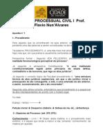 FCS - aula processo civil 1