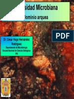 9.2. Diversidad Microbiana (Dominio Arquea)