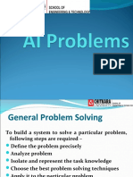 Artificial Intelligence Problems
