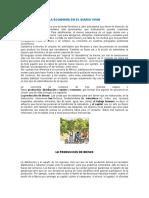 LA ECONOMIA EN EL DIARIO VIVIR GRADO 10 y 11