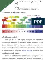 Tema 7Instrumente și aparate de măsurare a pH-lui în  produse de origine animală