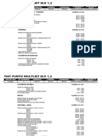 Fiat Punto Multijet Elx 1,3
